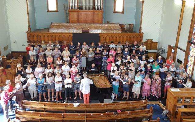 Teapot Summer School Choir Practice